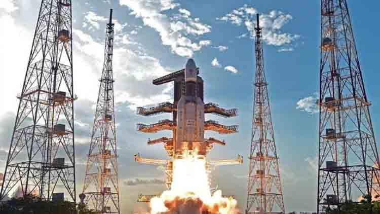 Watch: Chandrayaan-2 launched from Satish Dhawan Space Centre in AP's Sriharikota