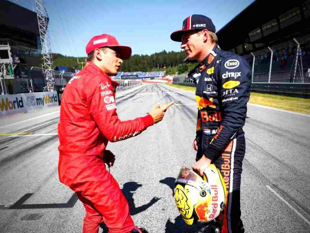 F1 Two Young Guns: Charles Leclerc and Max Verstappen DKODING