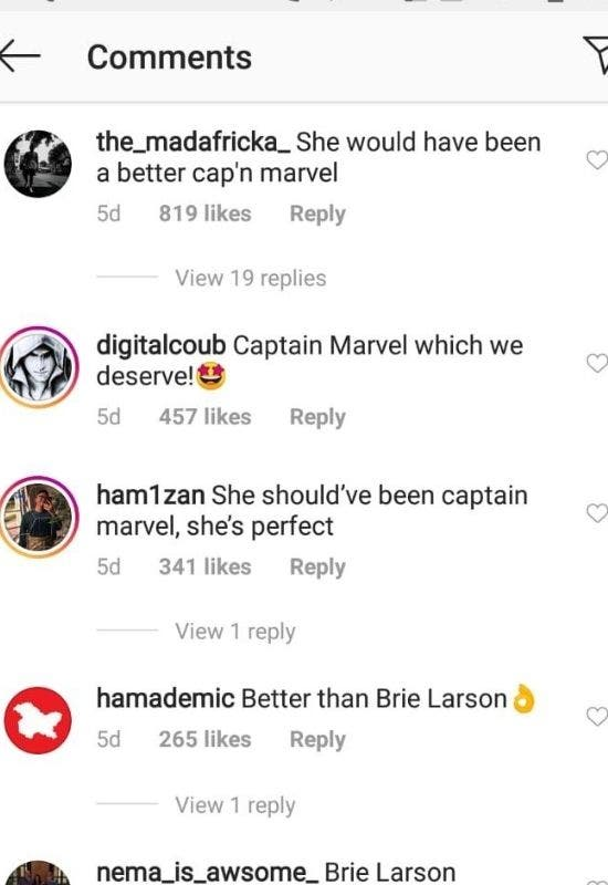 Charlize Theorn as Captain Marvel 2