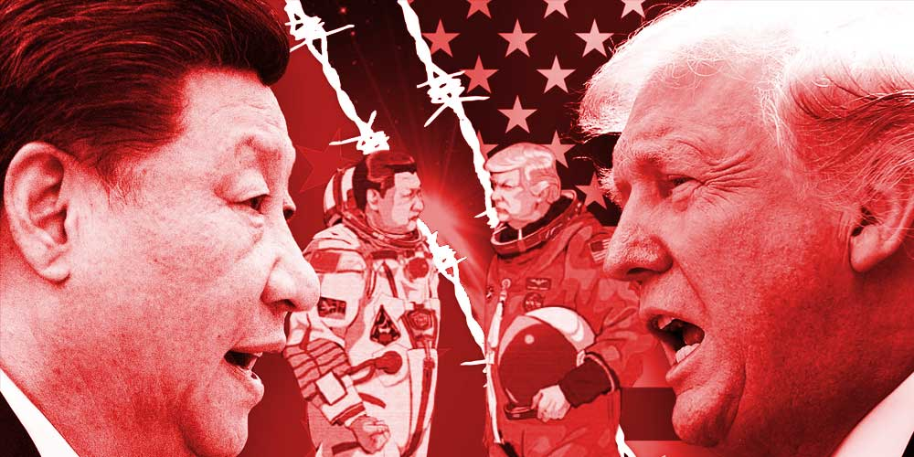 China's Military ability in Space Newsline DKODING