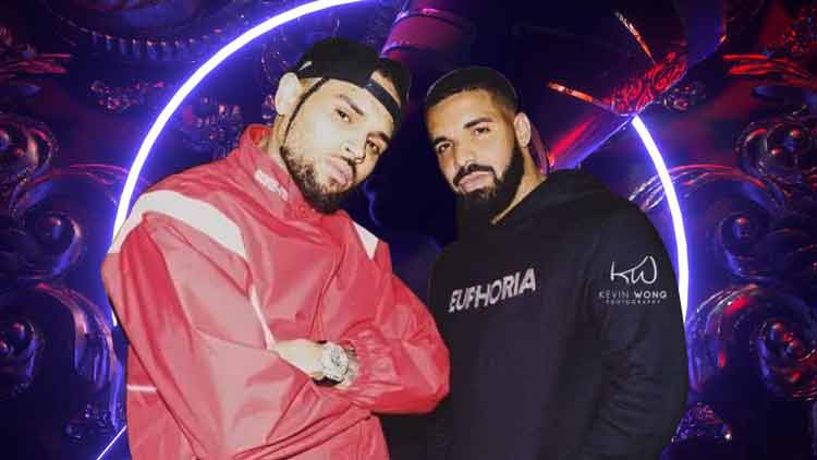 Chris-Brown-Drake-Collaborates -New-Track-No-Guidance-Hollywood-Entertainment-DKODING