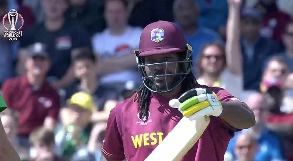 CWC19: Chris Gayle and DRS played threesome - DKODING