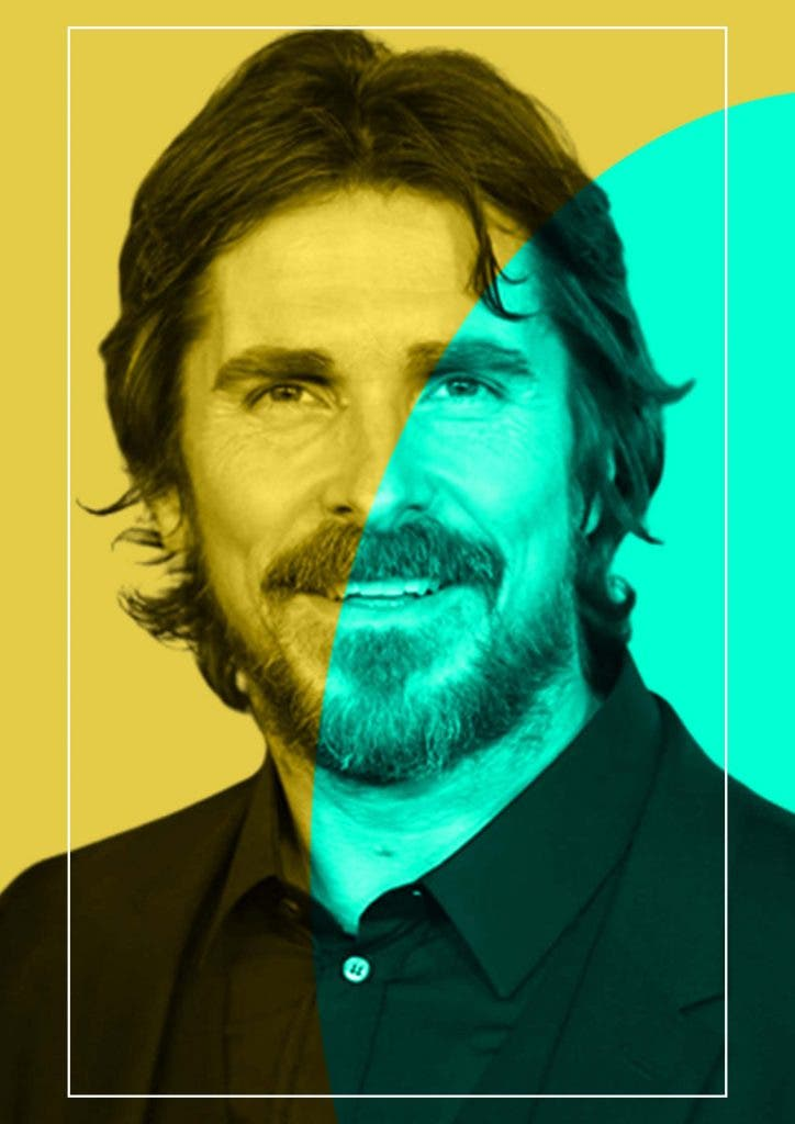 Christian Bale is terrified of his wife