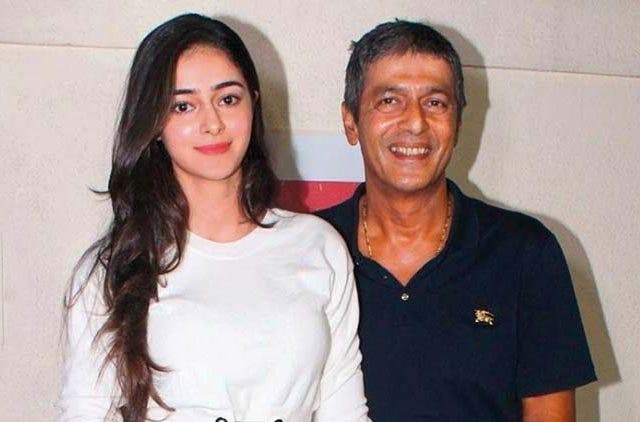 Chunky Pandey-Ananya Pandey-Bollywood-Entertainment-DKODING (2)
