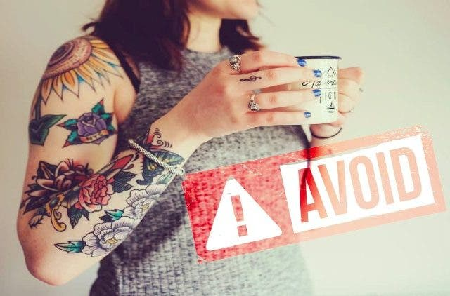 Coloured Tattoos Toxic Metals Newsshot DKODING
