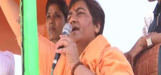 Cong-Lodges-Complaint-Against-Sadhvi-Pragya-For-Allegedly-Seeking-Votes-In-The-Name-Of-Army-India-Politics-DKODING