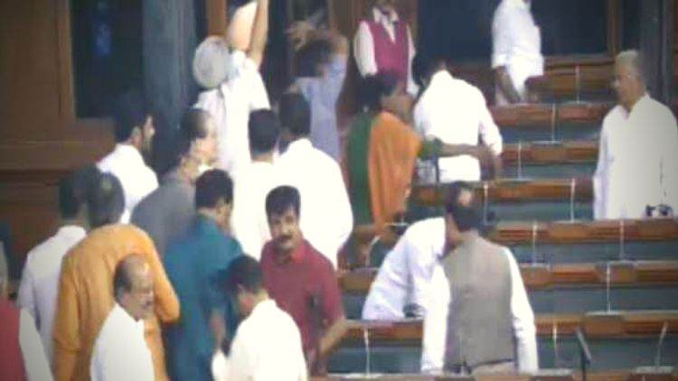Congress-Stages-Walkout-LS-After-Speaker-Rejects-Adjournment-Notice-India-Politics-DKODING