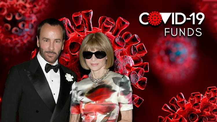 Fashioning Coronavirus Relief: Tom Ford And Anna Wintour Come To Aid