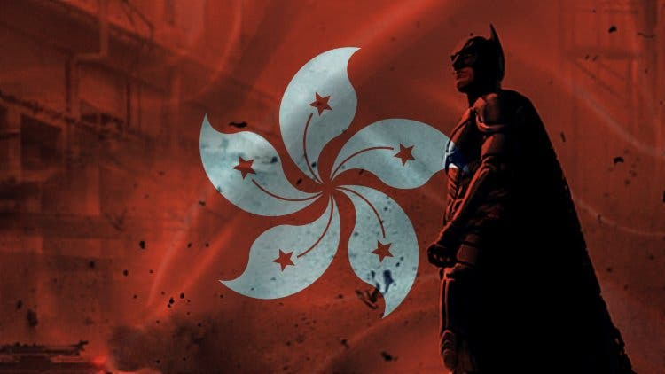 Is DC Comics' Batman on Hong Kong's payroll?