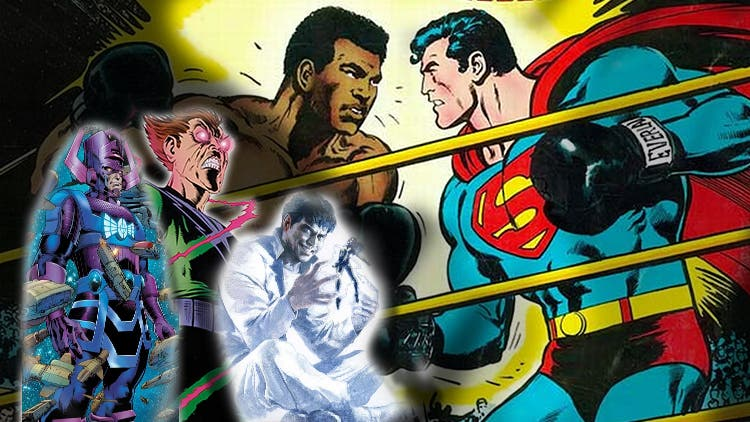 The Ultimate DC Marvel Crossover: Superman Vs Galactus, Silver  Surfer, Vulcan
