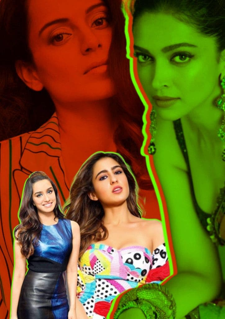 Kangana Ranaut The Tool and Deepika Padukone, Sara Ali Khan, Shardha kapoor The Victom?