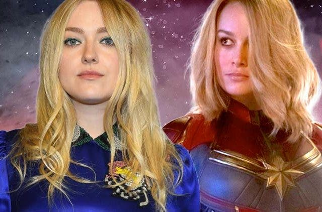 Dakota Fanning vs Brie Larson Captain Marvel