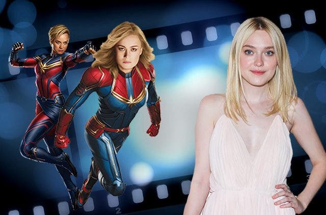 Dakota Fanning Captain Marvel DKODING