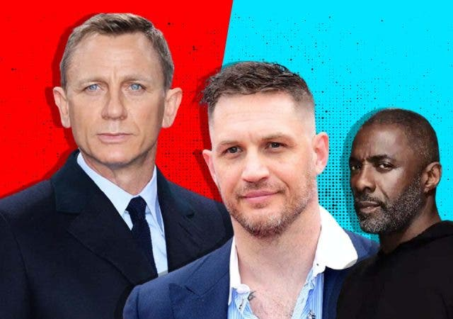Two actors in the competition for Daniel Craig's replacement as 007