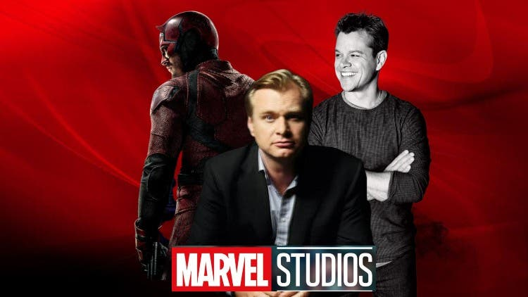 Marvel Eyes Christopher Nolan To #SavetheDaredevil — Time For Matt Damon To Join The Mix