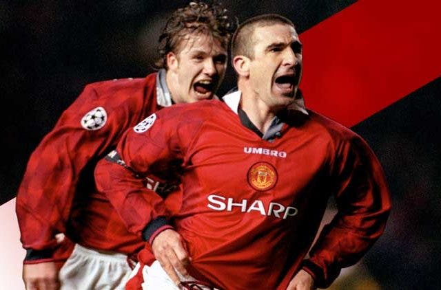 David-Beckham-Eric-Cantona-Manchester-United-Legend-Football-Sports-DKODING