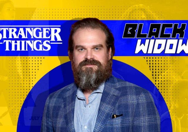 David Harbour Leaked 'Black Widow' Photos to 'Stranger Things' Makers for His Benefit