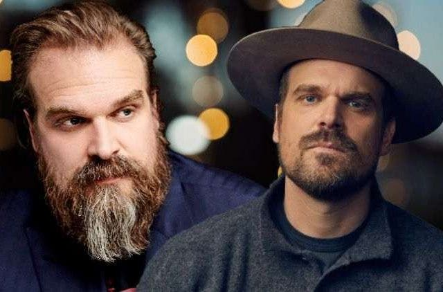 David Harbour turned into Mr. Scrooge