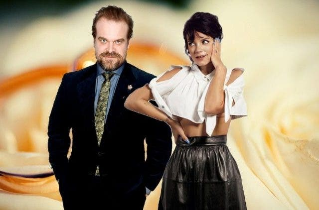 David Harbour Lily Allen Engaged