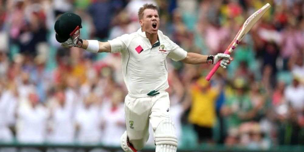 David Warner Australia Test Cricket Sports DKODING