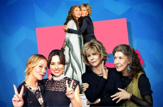 Dead to me is a prequel of Grace & Frankie