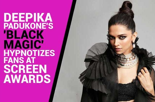 Deepika-Padukone's-black-magic-hypnotizes-fans-at-Screen-Awards-Videos-DKODING