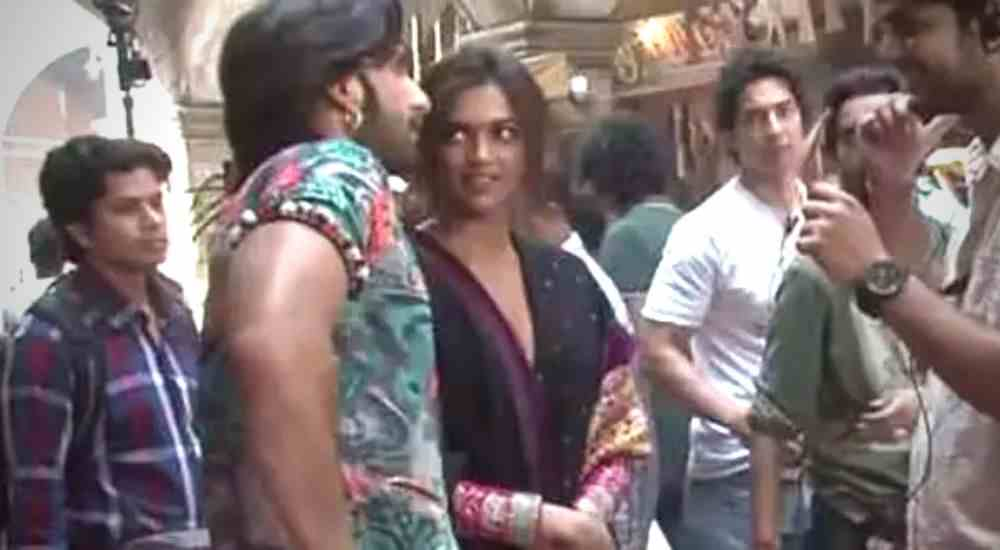 Deepika and Ranveer DKODING