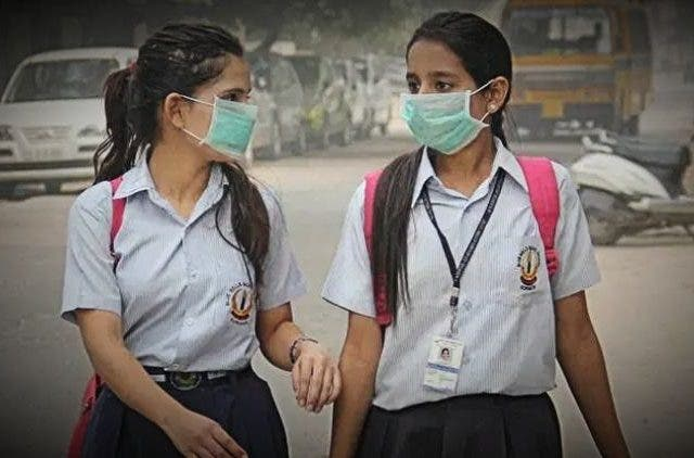 Delhi School Air Pollution More DKODING