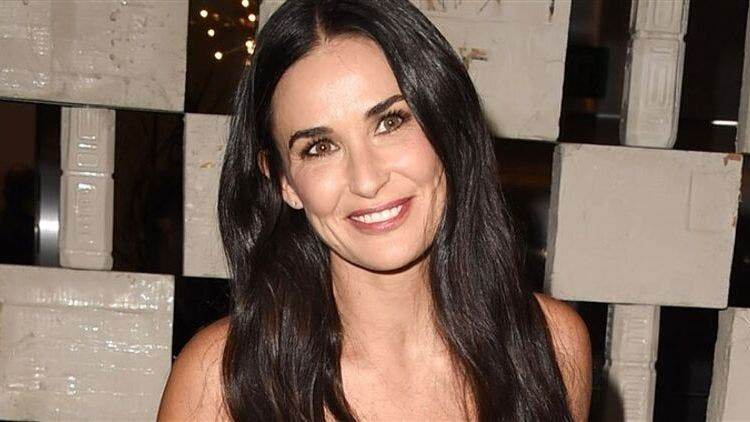 Demi-Moore-Skin-Care-Fashion-And-Beauty-Lifestyle-DKODING