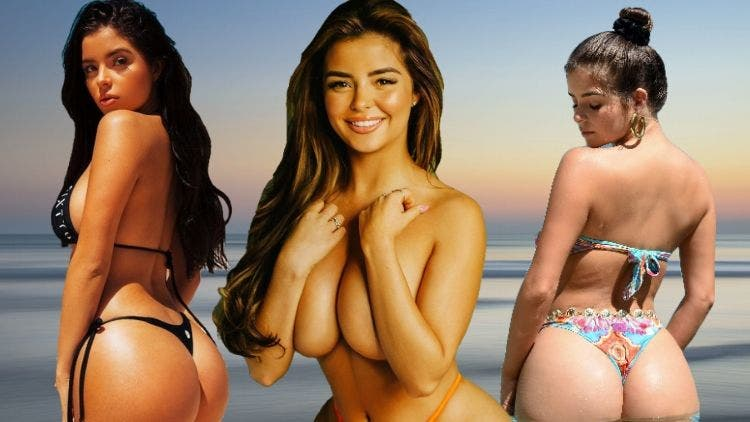 When the World Is Going Jobless, Demi Rose Is Going Topless