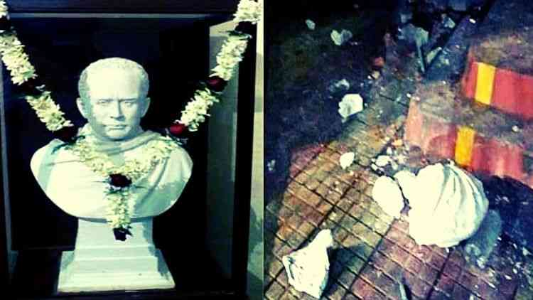 Destruction-Of-Vidyasagar-Statue-Insult-To-People-Of-Bengal-By-BJP-Ahmed-Pate-India-Politics-DKODING