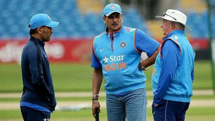 Dhoni Coach Team India