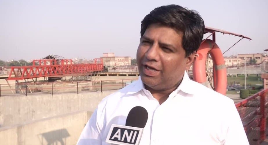 Dinesh Mohaniya alleged BJP ruled Haryana government for supplying contaminated water in Delhi