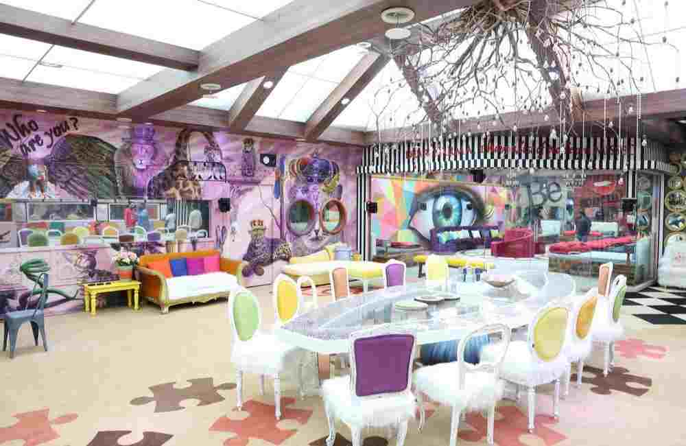 Dining area bigg boss house Bollywood DKODING