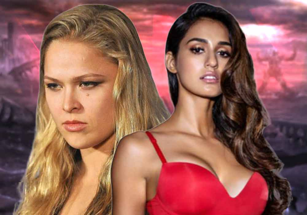 Disha Patani as Ronda Rousey  DKODING