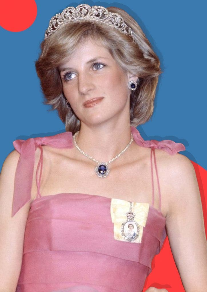 What did Princess Diana reveal in her interview?