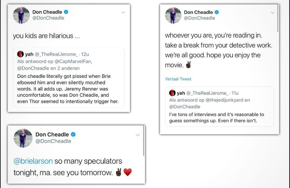 Don Cheadle On Brie Larson Controversy DKODING