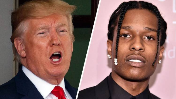 Donald Trump offers to affirm Asap Rocky for bail