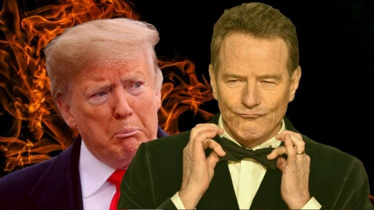Breaking Bad's Heisenberg, Bryan Cranston, Condemns Americans For Having Trump As Their President