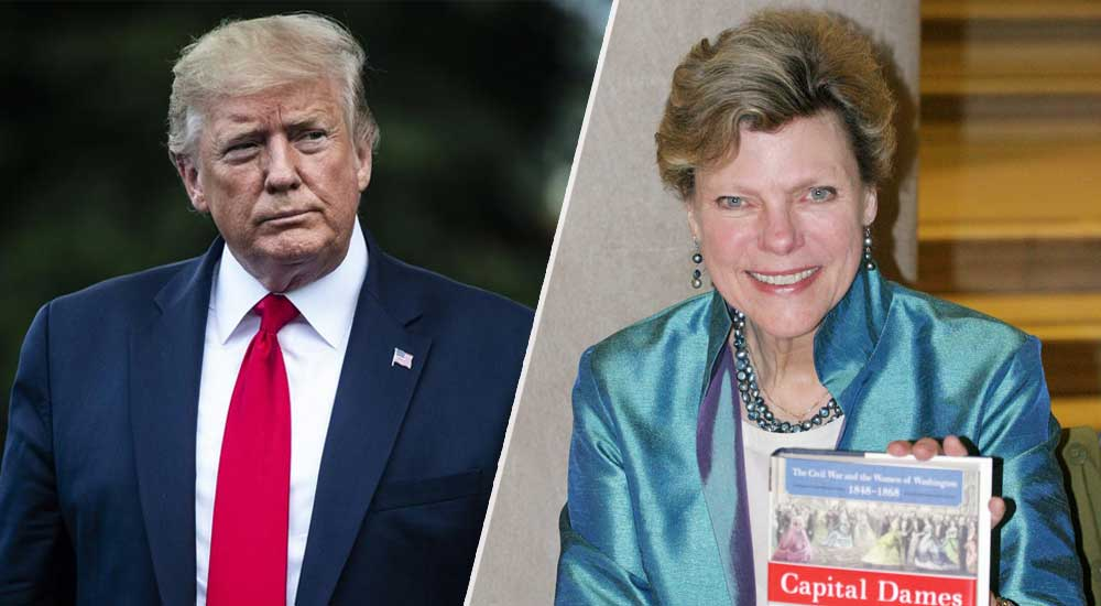 Donald Trump Cokie Roberts Trending Today DKODING