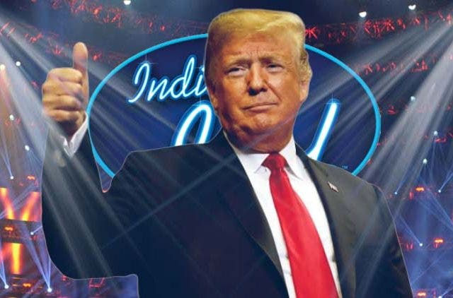 Donald Trump Indian Idol