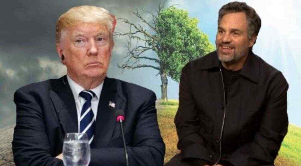 Mark Ruffalo tagged President Donald Trump as 'Public Enemy No 1'