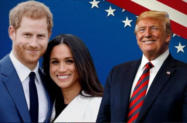 Donald Trump Meghan Markle Prince Harry DKODING