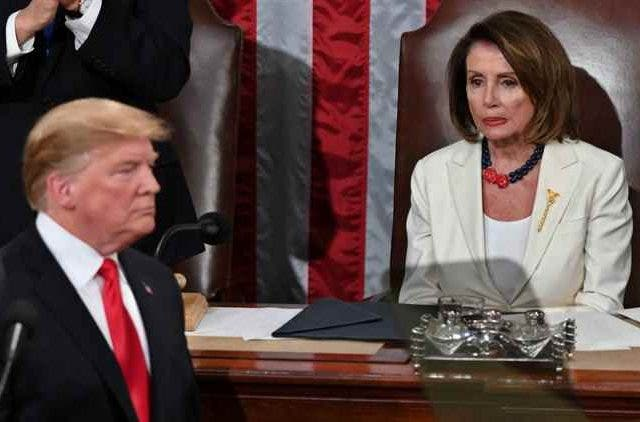 Donald-Trump-Nansi-Pelosi-Global-Politics-DKODING