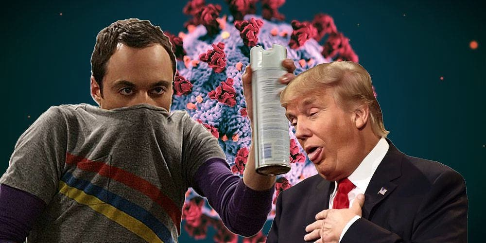 The Big Ban Theory — Germaphobe Donald Trump Has Much To Learn From Sheldon Cooper