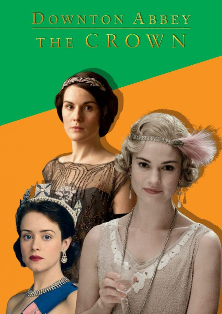 Downton Abbey and The Crown crossover