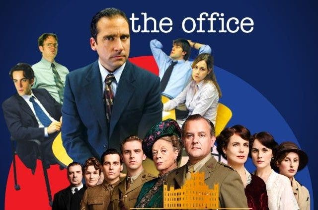 Downton Abbey snf The Office