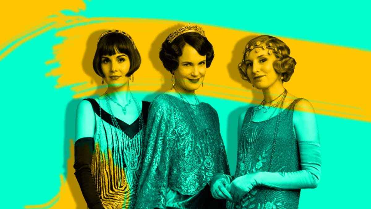 Downton Abbey two versions