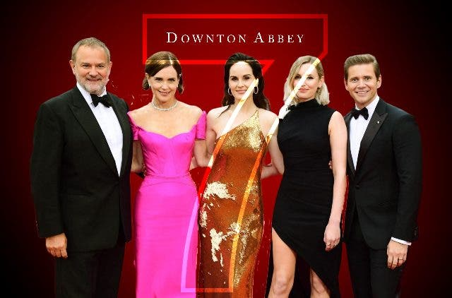 Downton Abbey with Season 7