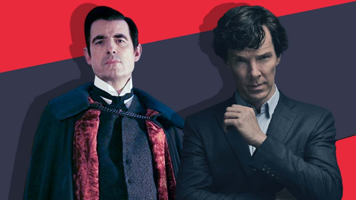 The crossover between Sherlock and Dracula
